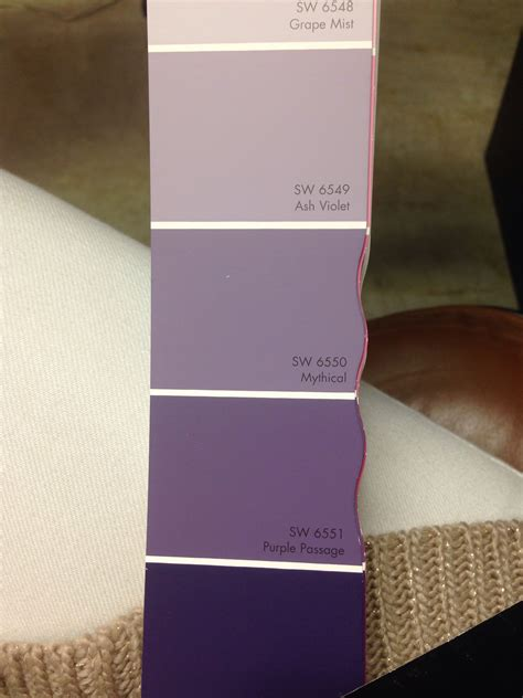 purple sherwin williams ash violet mythical bedroom