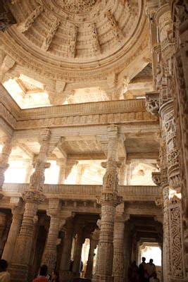 Corbelled Ceiling by Enderle Travelblog Ranakpur Worth The Stop