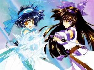 The three anime sisters kantara sango moonlight images sis ...