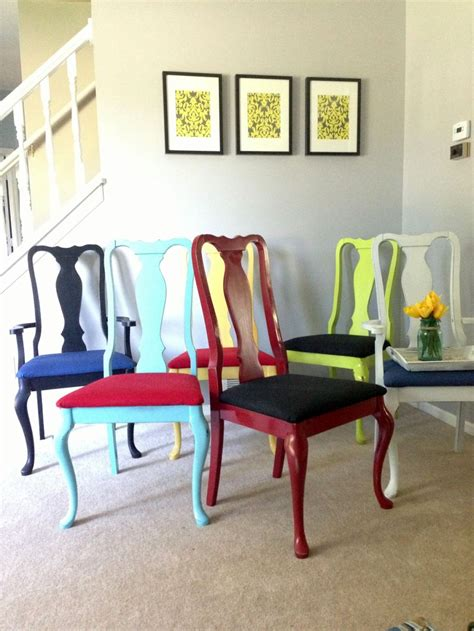multi colored dining chairs formal dining chairs multi