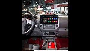 How To Remove Nissan Car Stereo   How To Install Car Stereo On Nissan Frontier