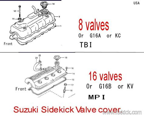 Geo Tracker Engine Diagram 8 Valve by How To Find Efi Parts