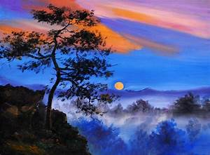 Nature Painting Canvas Art - Nature posters in India - Buy