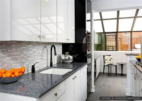 kitchen tile and cabinet combinations 9 white modern backsplash ideas glass marble mosaic tile