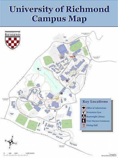 Map Campus Blunder Richmond Ian Blunders Edu