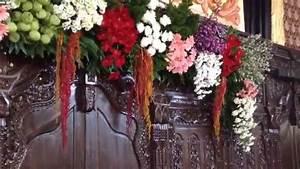 Cara Merangkai Bunga Dekor Pelaminan YouTube