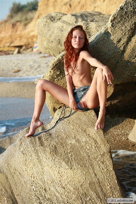 Kesy Nude On The Beach By AV Erotica Photos Erotic Beauties