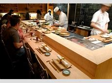The sushi counter at Jewel Bako Favorite Places & Spaces