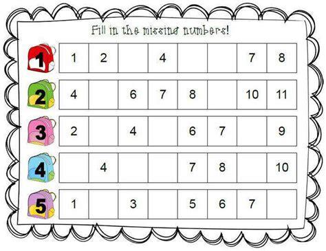 Number Recognition Worksheets Homeschooldressagecom