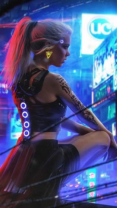 Cyberpunk Neon Aesthetic Cyberpunk2077 2077 Background Wallpapers
