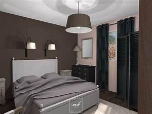 chambre parentale moderne decoration chambre parentale With salon de jardin confortable et zen 17 deco chambre a coucher cosy