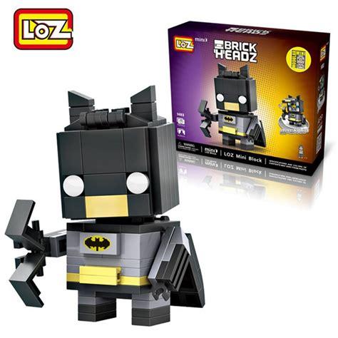 loz 1403 batman brick headz 157 pcs mister model