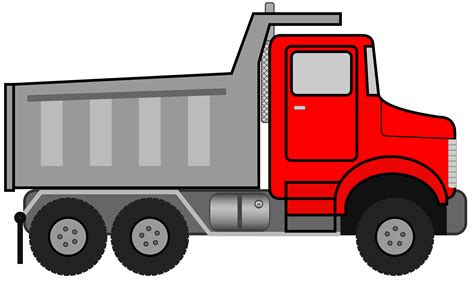 truck car black dump truck clipart black and white clipart panda free