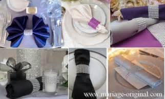 serviette mariage pliage serviette mariage simple obasinc