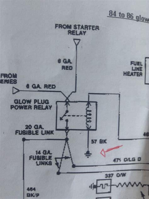 Glow Plug Relay Wiring Easy One Diesel Forum