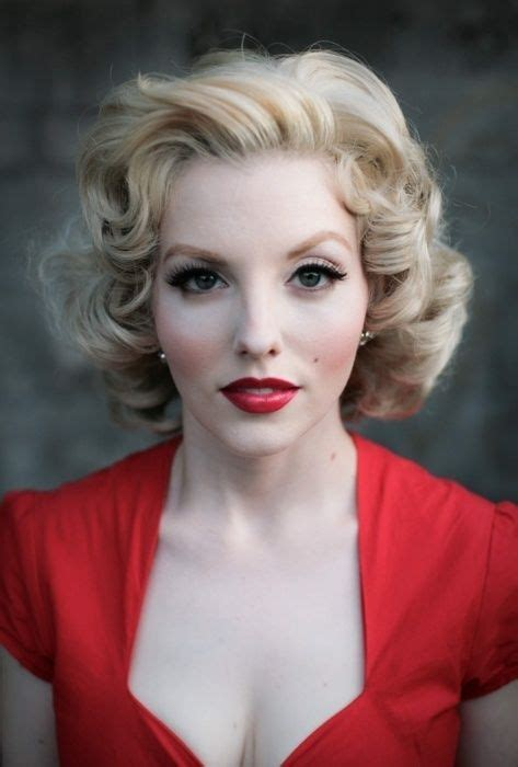 1950s Hairstyles And Makeup like the 1950s hairstyle and makeup 1950s hairstyles