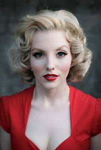 Like the 1950s hairstyle and makeup...   1950s hairstyles ...