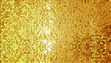 gold tile background loop stock footage video