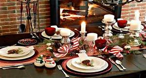 Decoration Table Noel Chic