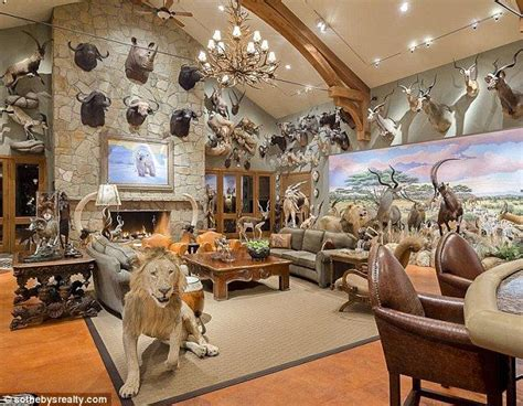 Taxidermy Home Decor: 25+ Best Ideas About Trophy Rooms On Pinterest