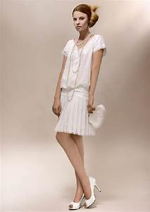 fashion trends for short wedding dresses With robe style guinguette