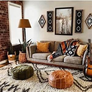 Cozy, Bohemian, Living, Room, Decor, Ideas25