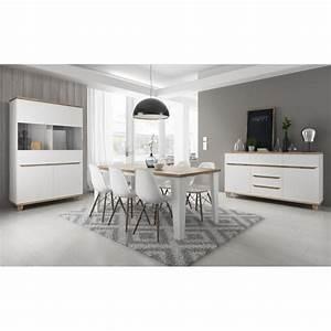 salle a manger complete lier style scandinave et nordique With salle À manger contemporaine avec deco cuisine scandinave