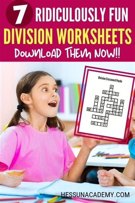 kid tested division worksheets  fun math  images