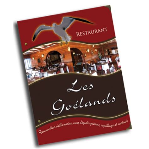 porte menu personnalisable porte carte restaurant