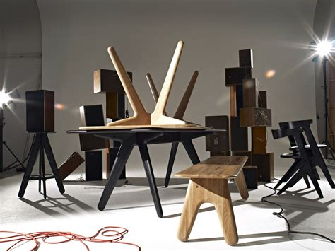 Slab Bench Natural lacquer by Tom Dixon
