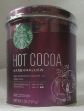 Learn more about our range of starbucks coffees. STARBUCKS COFFEE MARSHMALLOW HOT COCOA 7-OZ TIN EXP 2021 | eBay