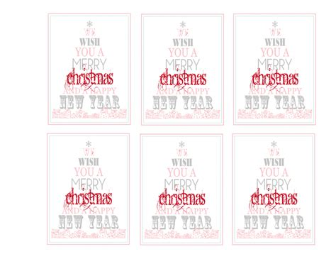 The 36th Avenue  Free Printable Merry Christmas & Happy New Year  The 36th Avenue