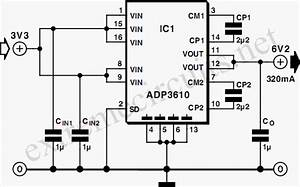 Switching Voltage Regulator Circuit Diagram