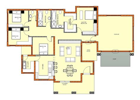 5 bedroom house plans south 5 bedroom house plans house style and