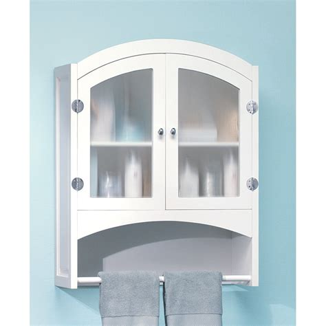 bathroom cabinet with towel rack white wood bathroom linen wall cabinet with towel rack ebay