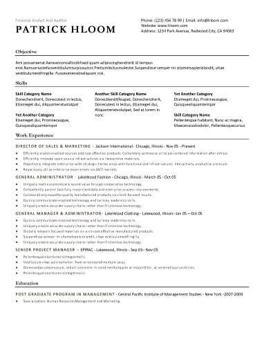Resume Templates by 30 Basic Resume Templates