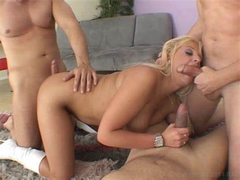 Foursome Scene With Several Astonishing Blondes Gal Don'T Talk With Your Tongue