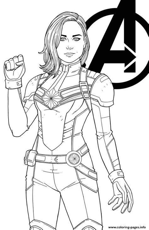 captain marvel  jamiefayx coloring pages printable