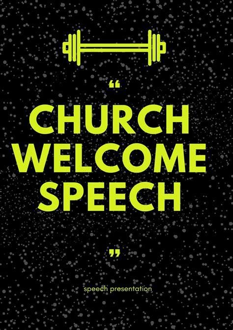 black church anniversary  speeches