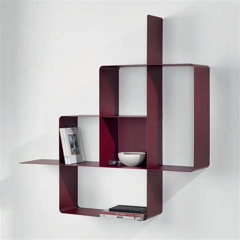 si鑒e design libreria mondrian da parete moderna in acciaio modulare 120 x 120 cm