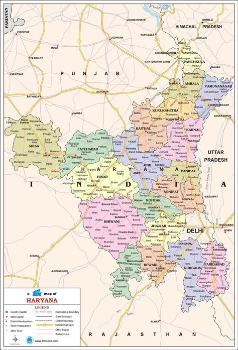 haryana travel map maps pinterest travel maps