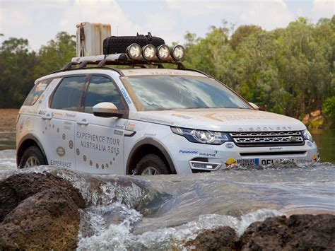 land rover experience  mit dem discovery sport durchs