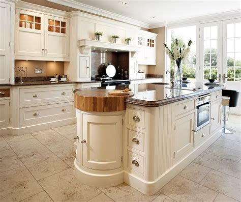 Luxury Handcrafted Kitchen Island With Integrated Butchers