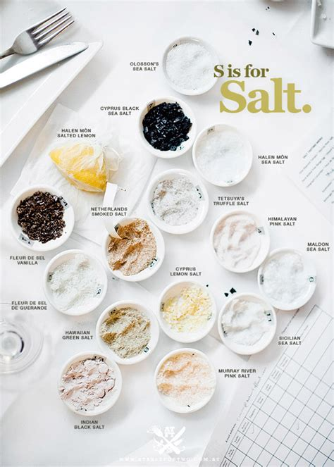 different types of salt ls brother luck how many salts are in your kitchen