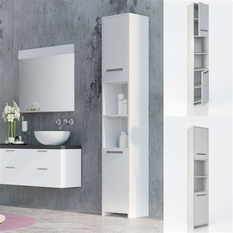 bathroom cabinet wood tall bathroom furniture shelf