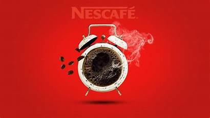 Nescafe Photoshop Poster Advertising Illustration Manipulation Making