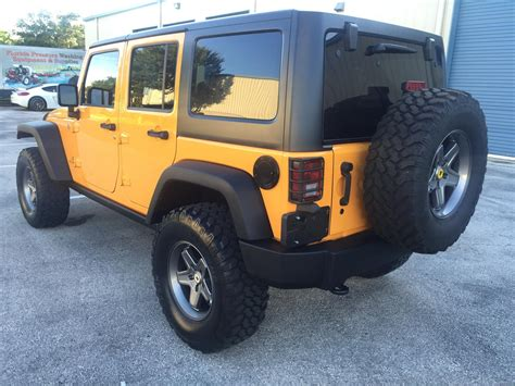 jeep tires 35 2012 jeep wrangler 4dr unlimited rubicon 15k miles 2 5