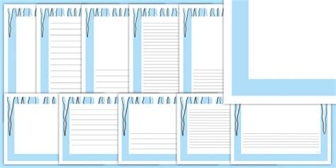 Icicle Page Border Pack  Icicles, Ice, Frozen, North Pole