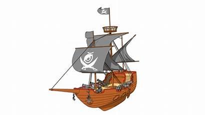 Pirate Sea Ship Cartoon Wonders Reveal Cinematic