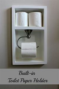 Turtles and Tails: Recessed Toilet Paper Holder (aka